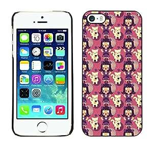 ZECASE Funda Carcasa Tapa Case Cover Para Apple iPhone 5 / 5S No.0000389