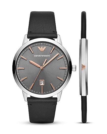 e078dce9a2d6 Emporio Armani RUGGERO AR80026 Reloj de Pulsera para Hombres  Amazon.es   Relojes