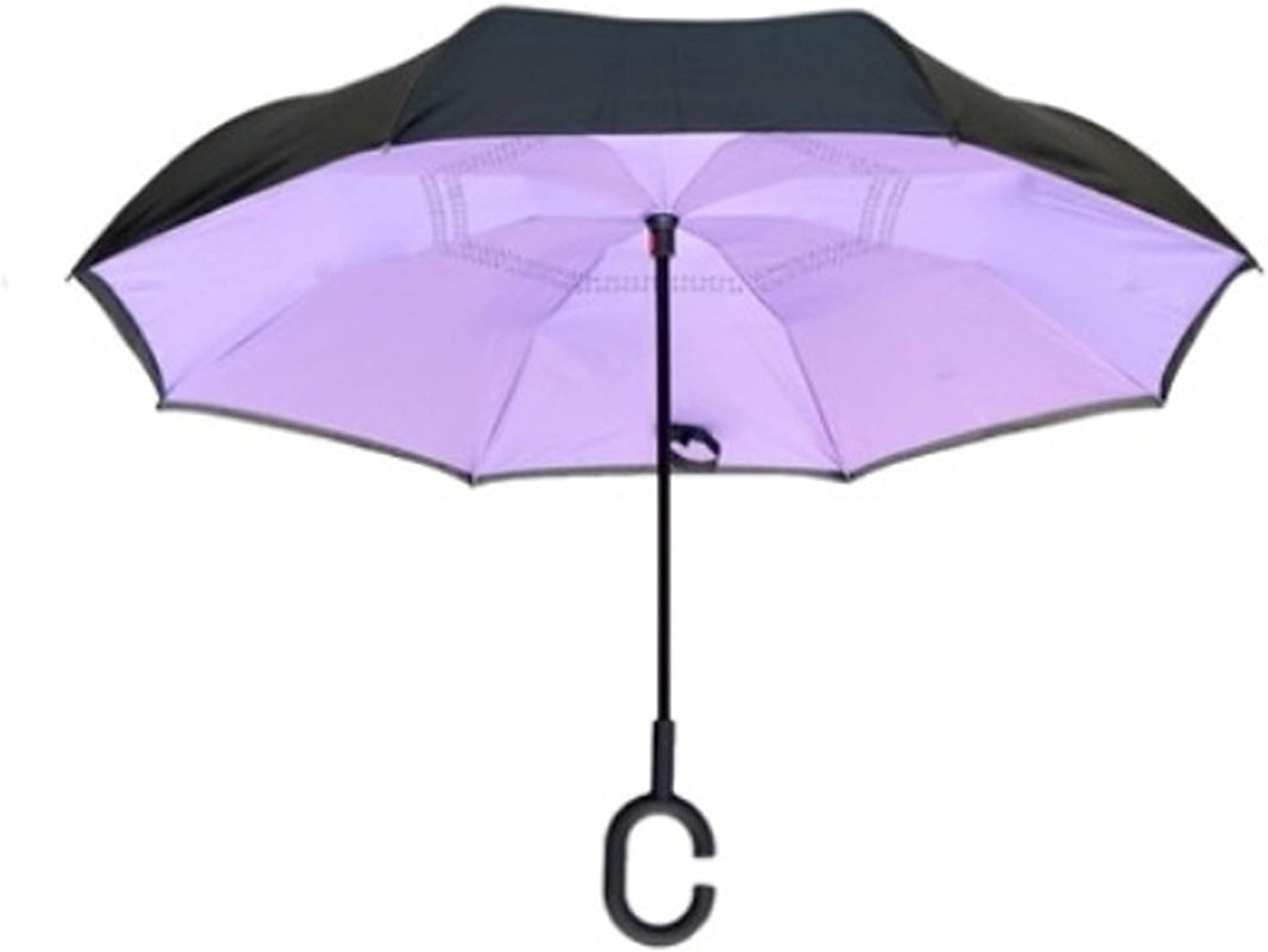 Double Layer Inverted Umbrella With C-Shaped Handle Squidward Tentacles Reverse Windproof Umbrella UV Protection Upside Down Umbrella