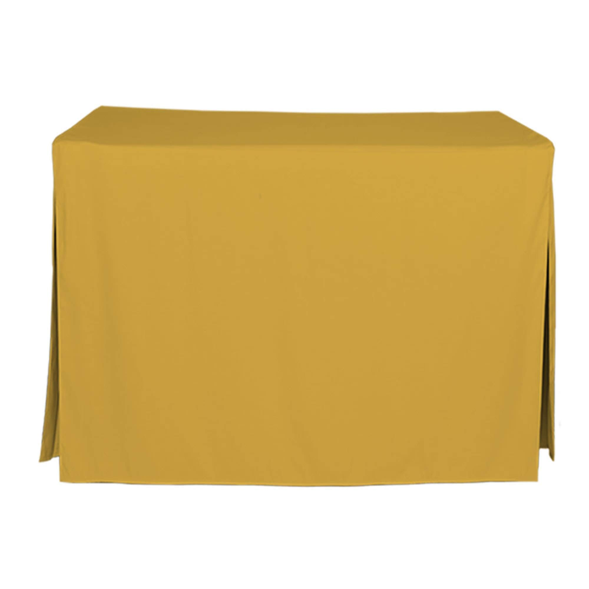 Tablevogue Solid Table Cover, 4', Mimosa by Tablevogue