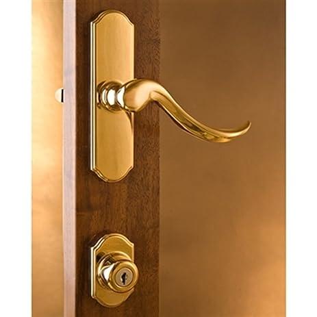 Delicieux Normandy Surface Mount Storm Door Hardware Bright Brass 1 Inch Thick Door