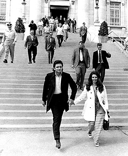 Johnny Cash and June Carter Photo Print