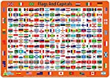 Little Wigwam Flags and Capitals Placemat