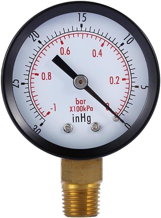 """paquete De 4 Medidor de presión de 2 /""""Dial 1//4 Npt Lower Mount 0-30 Psi"""