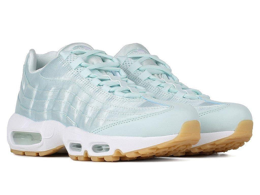 official photos 5342b e5d52 Amazon.com   Nike Air Max 95 WQS Satin Fiberglass White Gum Yellow  919491-301 Women Size 6.5   Fashion Sneakers