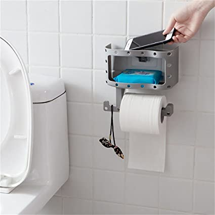 Amazoncom Hook Up Bathroom Storage Holders Racks Toilet Paper Roll