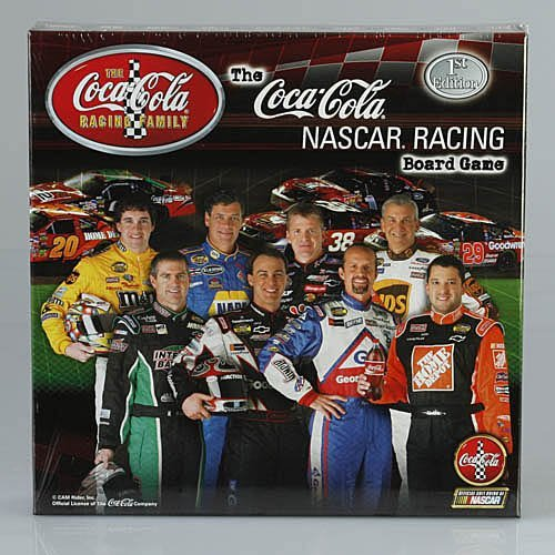 Michael Waltrip Racing Driver - Coca-Cola NASCAR Racing Board Game