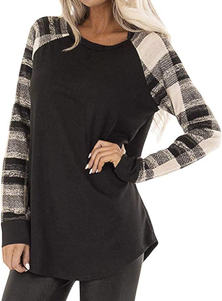 UK Women High Neck Tops Long Puff Sleeve Casual Loose Plain Ladies Blouse Shirt