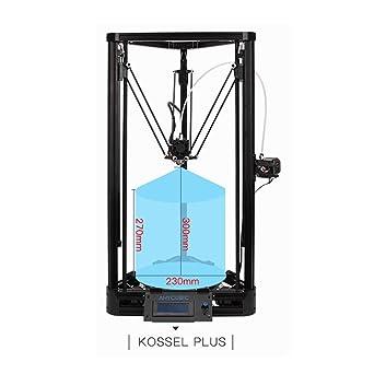 Anycubic Impresora 3D Kossel Delta Rostock Diy Kit Tamaño de ...