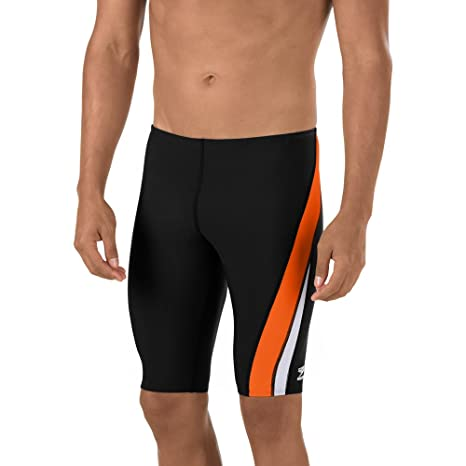 Amazon Speedo Mens Endurance Launch Splice Jammer Swimsuit