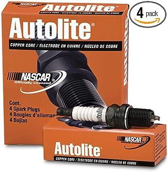 Autolite 65-4PK Copper Resistor Spark Plug Pack of 4