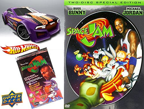 space-jam-space-jam-2-disc-special-edition-dvd-hot-wheels-basketball-car-set-looney-tunes-space-jam-