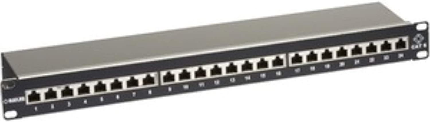 Black Box Network Services Cat6 Shielded Patch Panel 24-port