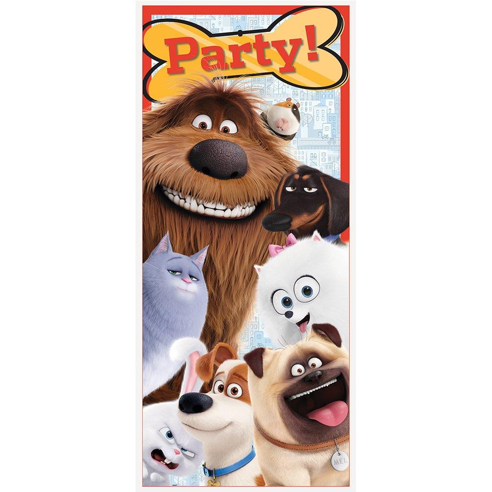 Plastic The Secret Life of Pets Door Poster, 60 x 27 60 x 27 Unique 43974