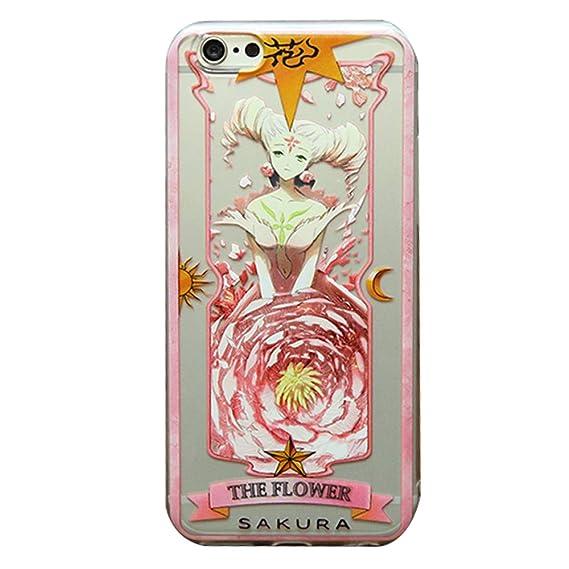 newest 73a98 758e8 Amazon.com: futurecos Card Captor Sakura The Flower Clow Card Anime ...
