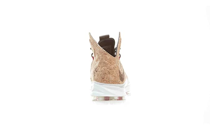 finest selection 37eb0 486a7 Amazon.com   Lebron X Ext Cork QS Men s Basketball Shoes Classic  Brown University Red Hazelnut   Shoes