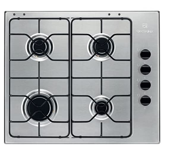 Electrolux EGS64041X Piani cottura: Amazon.it: Grandi ...