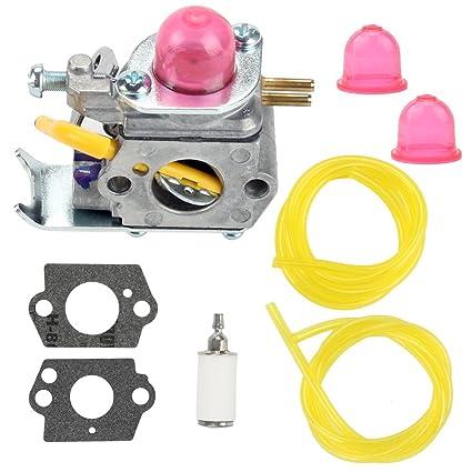 Carburetor for Weedeater Featherlite FL25C FX26SC XT260 FL20 FL26 Gas Trimmer