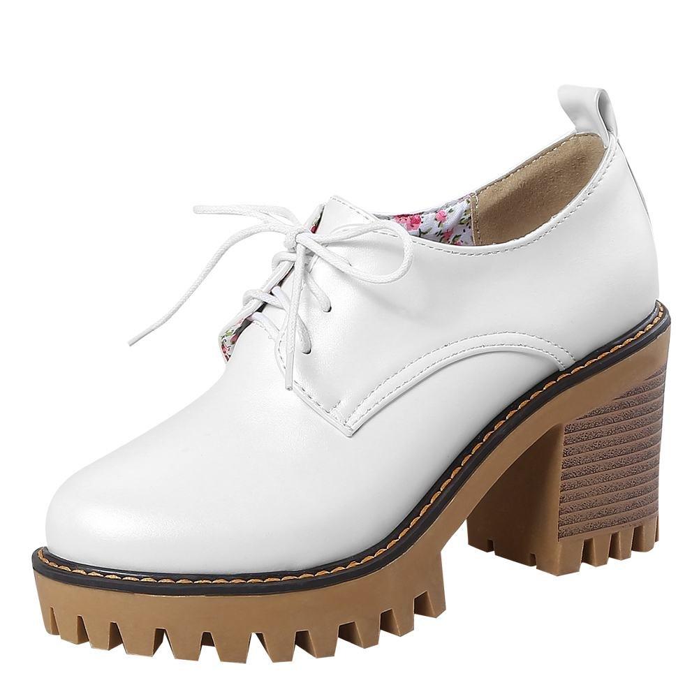 MissSaSa Donna Moda Scarpe Bianco Bianco Bianco 850485