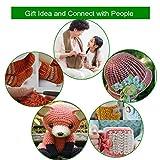 New Set of 47 Ergonomic Crochet Hooks Set w Rubbery Handles Hook 0.6-6MM, Comfort Grip for Arthritic Hands