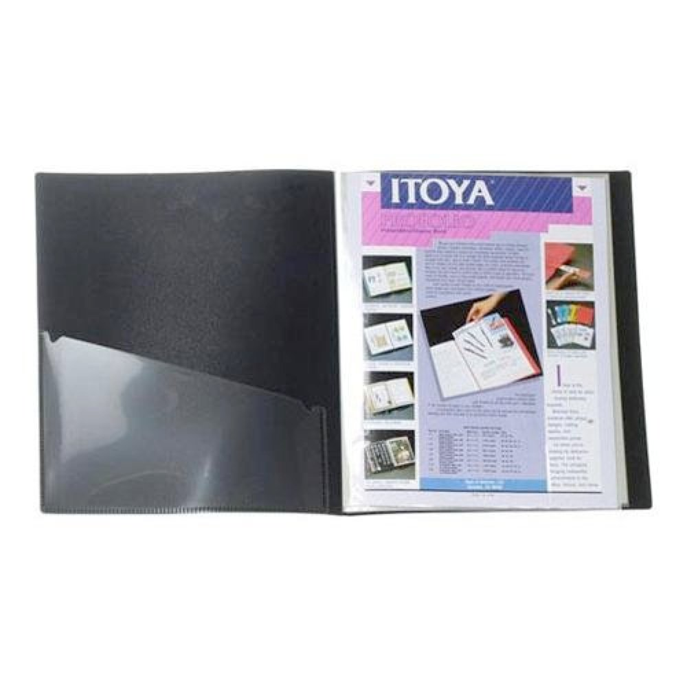 Itoya The Original Art Profolio 8.5' x 11' 36 Pages ITOYA OF AMERICA IA-12-08-36/I-36BK/IA-12-8 BA02660462-001