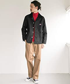 Work Jacket UR86-17H011: Black