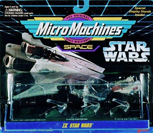 Superstar Destroyer (Star Wars Micro Machines IX: B-wing Starfighter, Super Star Destroyer Executor, A-wing Starfighter)