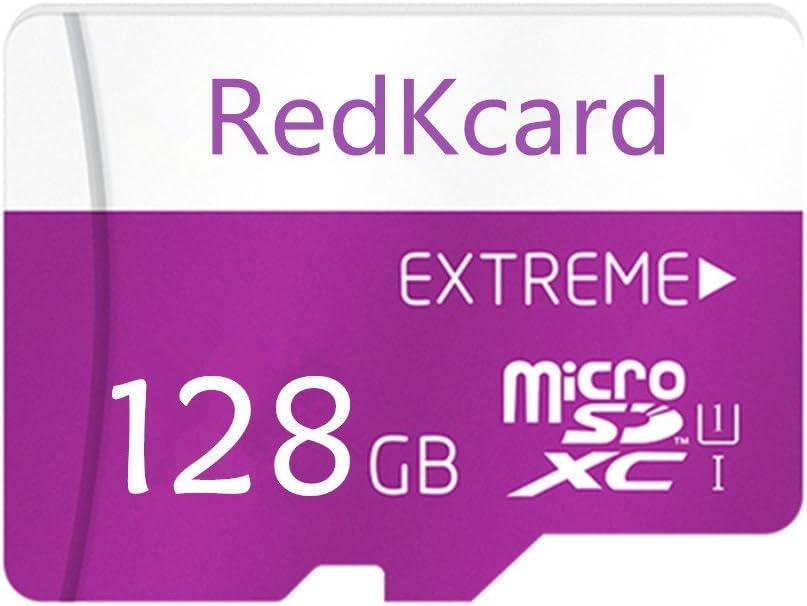 Tarjeta de memoria Micro SDXC, de RedKcard, con 64 GB y adaptador de alta velocidad UHS-I clase 10 128 GB