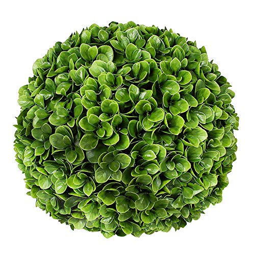 ART TO REAL 20'' Artificial Boxwood Topiary Ball, Indoor Outdoor Artificial Plant Ball Wedding Party Decoration (20 inch, Boxwood Ball) ()