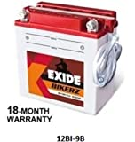 Exide Bikerz 9 Ah Battery