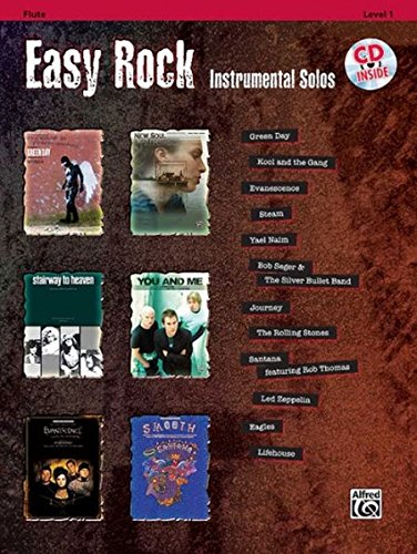 Easy Rock Instrumental Solos, Level 1: Flute, Book & CD (Easy Instrumental Solos Series)