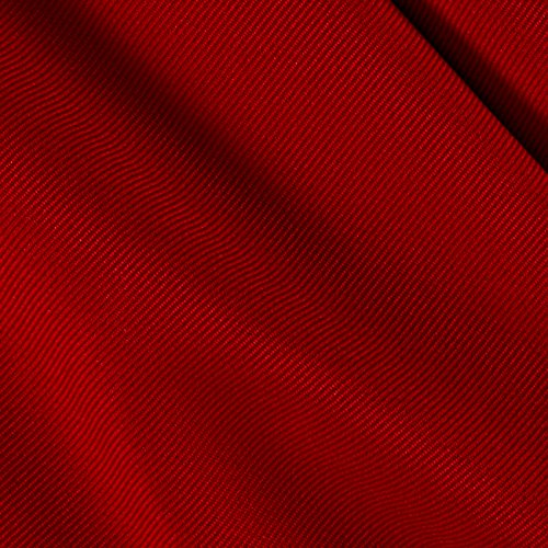 Ben Textiles Gabardine Suiting Solid Red Fabric by The Yard,