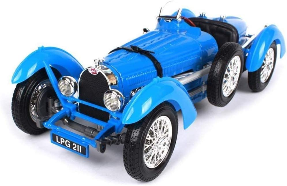 Llpeng Modelo De Juguete Modelo Del Coche Retro 1 18 1934 Bugatti Type59 Simulación De Aleación De Fundición A Presión De Joyas De Juguete Colección De Coches Deportivos Joyería 25 2x10x7 6cm Amazon Es Hogar