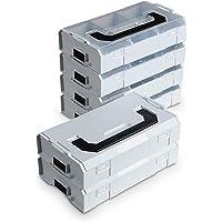 L-Boxx Mini van Bosch Sortimo grijs 10st   Assortimentendoos voor kleine onderdelen   Sorteerbox Mini LBOX