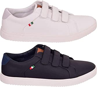 D555 Mens Without Laces' Trainers Big