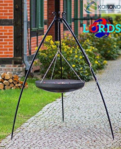 133Stahl schwarz 70cm Gitter auf Stativ Schüssel 2,0mm Arbeit Handbuch Hochwertige, Made in Polen
