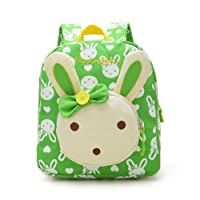 Flyingsky Rabbit Animals Kids Book Backpack Baby Girls School Bag