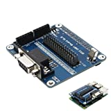 GAOHOU 65x56.5mm GPIO 3.3V Serial Port Expansion Board Module RS232 For Raspberry Pi