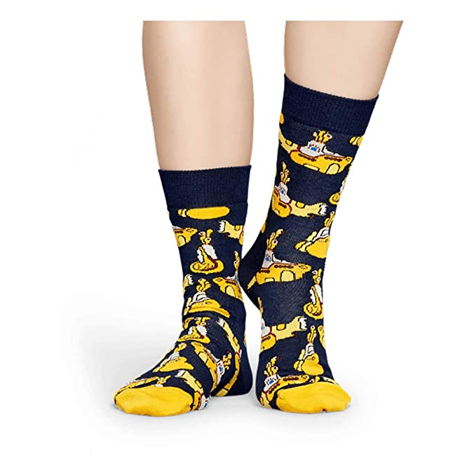 Happy Socks Calcetines Submarine Mujer 36-40 Naranja: Amazon.es: Ropa y accesorios