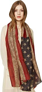 SEW ELEGANT NEW Beautiful Bold Mix Flags Royal Occasion Union Jack Rustic American English Afternoon Tea Print Scarf