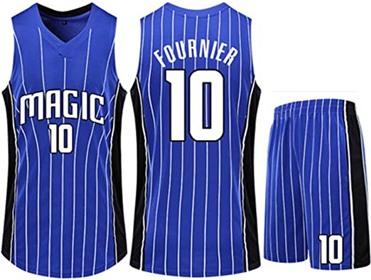 HS-QIAN1 10# Evan Fournier Conjunto De Camiseta De Baloncesto De ...