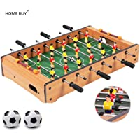 HOME BUY Mid-Sized Football Table Soccer Game with 6 Rods