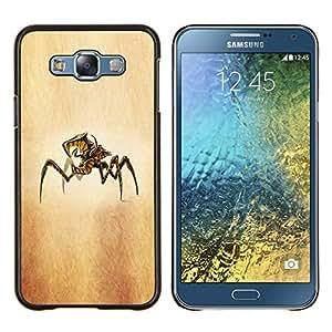 For Samsung Galaxy E7 E700 Case , Cosecha del otoño- Diseño Patrón Teléfono Caso Cubierta Case Bumper Duro Protección Case Cover Funda