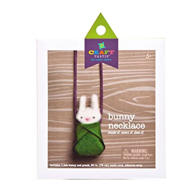 Craft-tastic Bunny Necklace Kit: Toys & Games