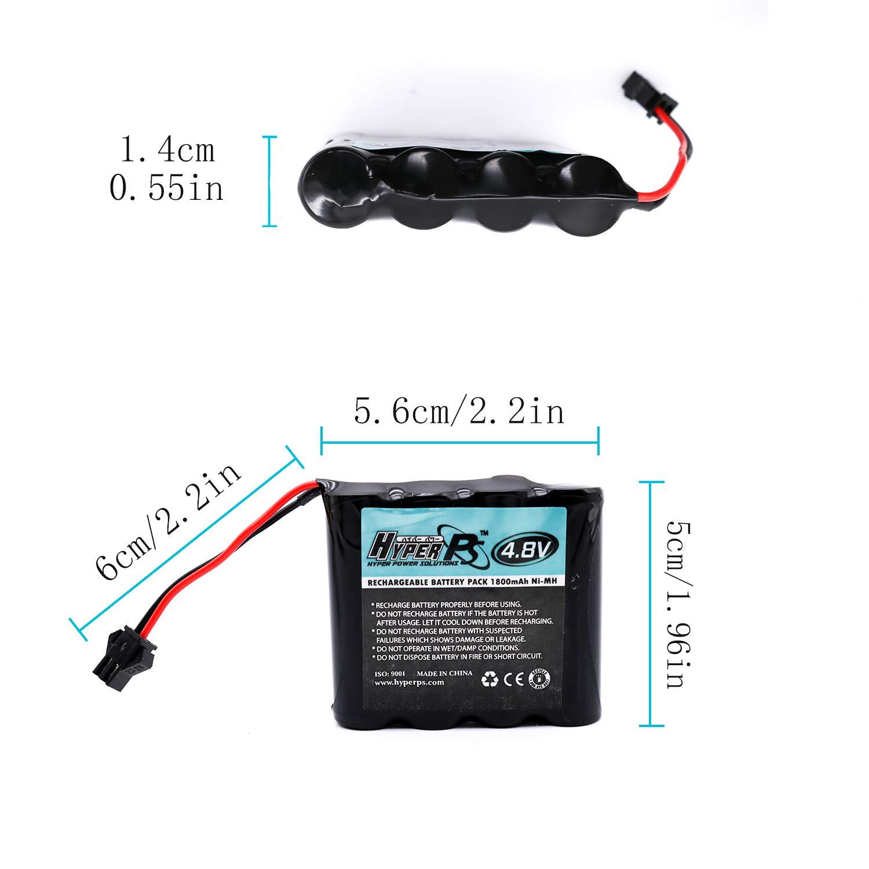 Amazon.com: Batería de repuesto recargable de 1800 mAh Ni-MH ...