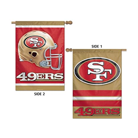 Image Unavailable. Image not available for. Color  WinCraft San Francisco  49ers Two Sided House Flag 32ee5652b