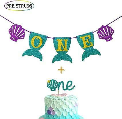 Amazon.com: Mermaid Smash - Kit de decoración para tartas de ...