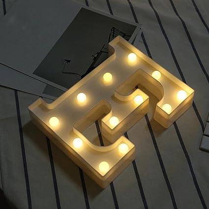 hot sale alphabet led letter lights keepfit light up white plastic letters standing hanging for