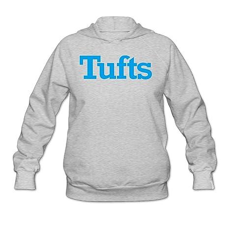 Tufts University Logo Women Hooded Sweatshirt Ash  Amazon.ca  Clothing    Accessories c8c0b2a8c2
