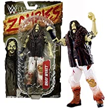 Mattel Year 2016 World Wresling Entertainment WWE Zombies Series 7 Inch Tall Figure - Zombified BRAY WYATT with Removable Vest Jacket